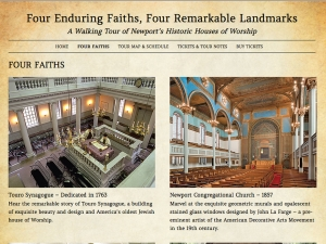 Four Faiths Walking Tour in Newport