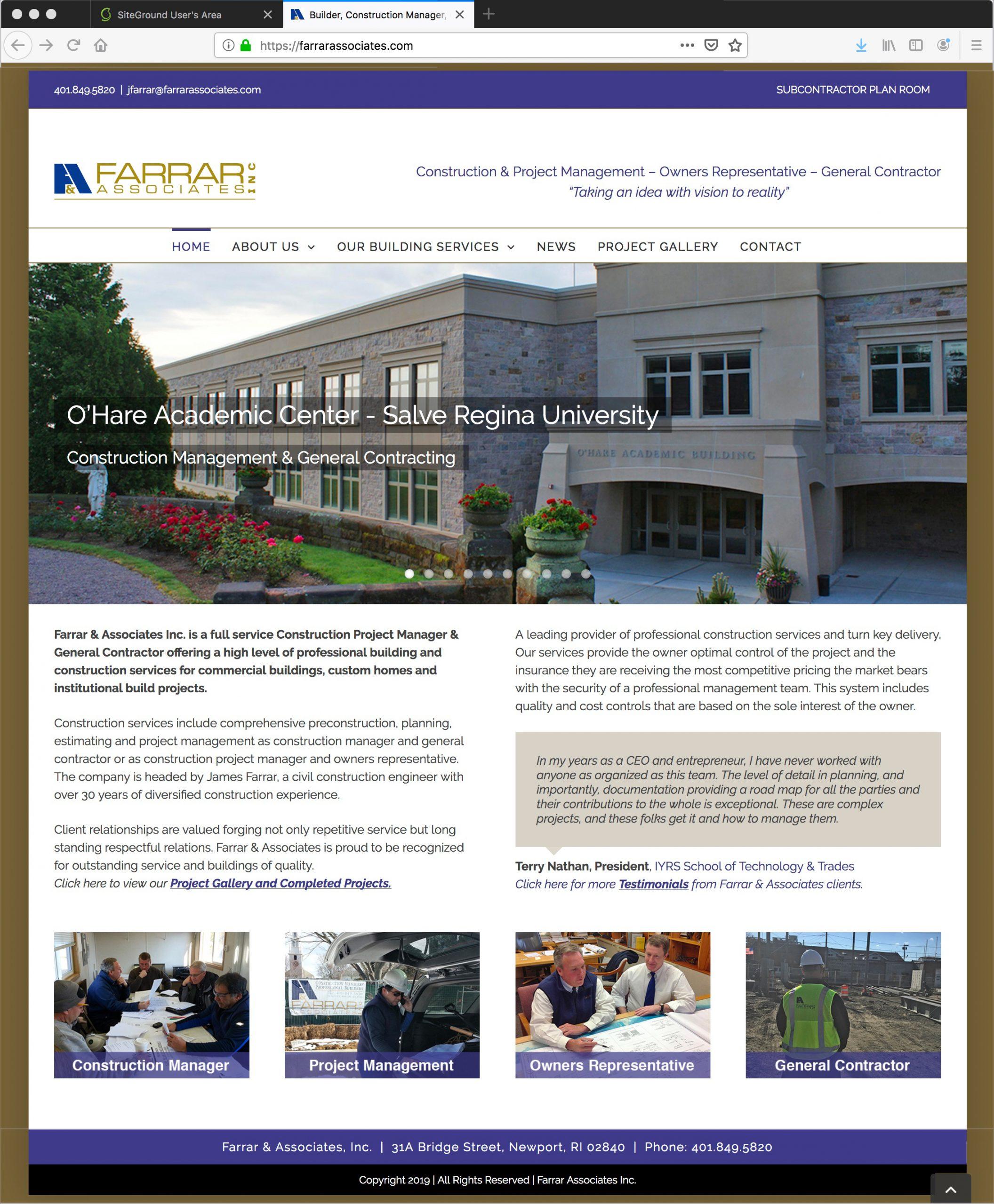 Farrar Associates Construction Management