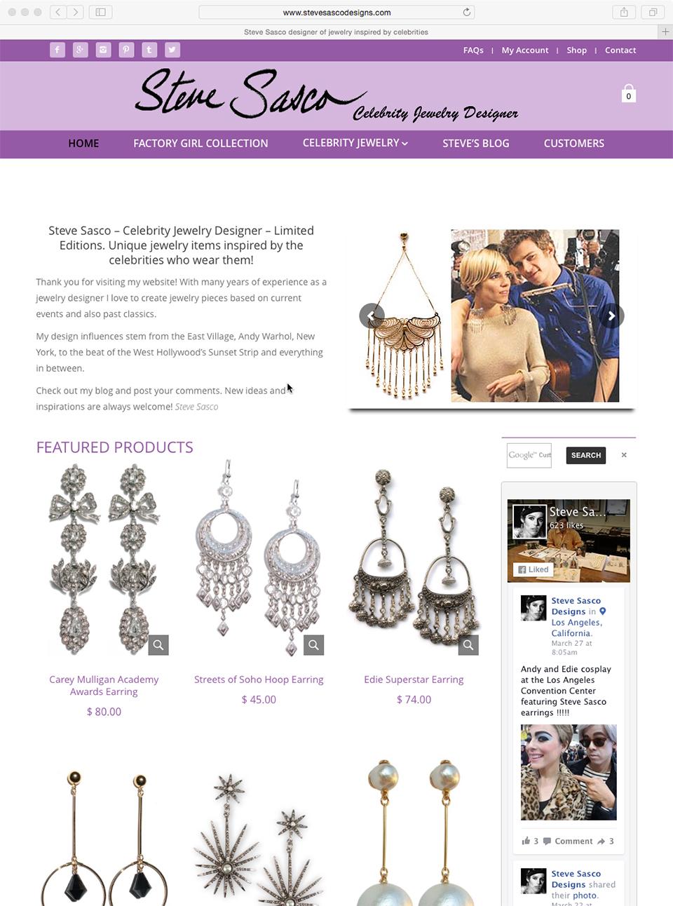Steve Sasco Designs Jewelry