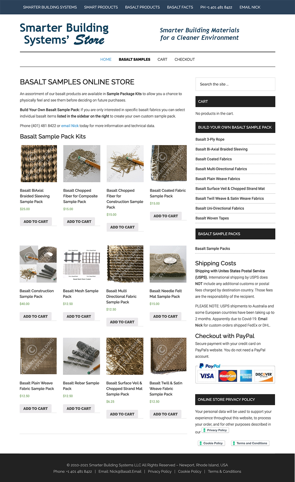 Smarter Building Systems online store